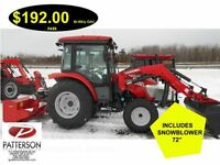 TRACTOR, MCCORMICK,45 HP, SHUTTLE,MONCTON