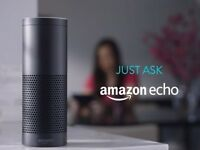 Nearly New Amazon Echo Plus, Alexa.... perfect condition with box and leads.