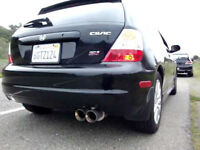 Magnaflow Stainless Cat-Back Exhaust 02-05 Honda Civic SIR EP3