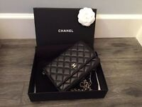 Chanel classic wallet on chain ONLY ONE LEFT !!!!