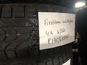 4 pneus hiver 195/65r15
