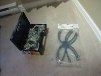Brand New Tire Chains in Carry Box with Installer