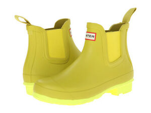 Hunter Chelsea boots in rare discontinued colour, size 6