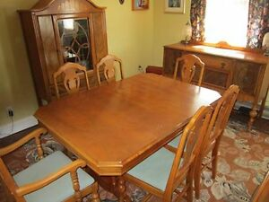 Antique Dining Room (10 piece) Suite circa 1900 St. John's Newfoundland image 1