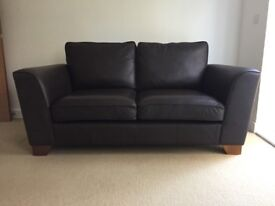 Marks and Spencer leather sofa & armchairs
