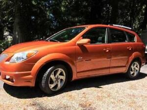 Pontiac Vibe Hatchback ready for winter