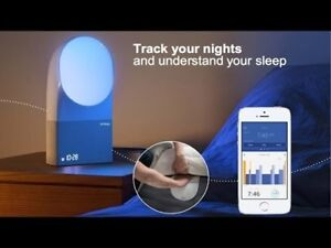 Réveil lumineux et analyse du sommeil Withings Aura