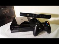 Xbox 360 super slim with kinect