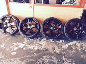 20 inch black colour 5 stud patan fit to Holden commodore. Summer Hill Ashfield Area Preview