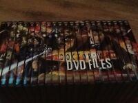 Dr who DVD files joblot