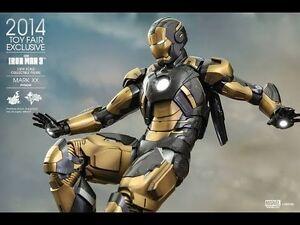 HOT TOYS IRON MAN 3 MARK 20 MKXX PYTHON ironman marvel avengers