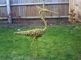 WILLOW HERON SCULPTURE.