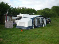Bradcot Active Caravan Awning with Bedroom Extension
