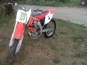 Honda 450r dirt bike