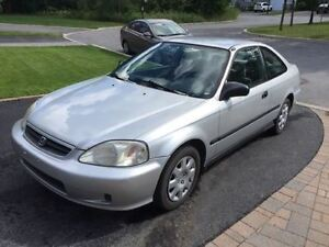 1999 Honda Civic tissu Coupé (2 portes)