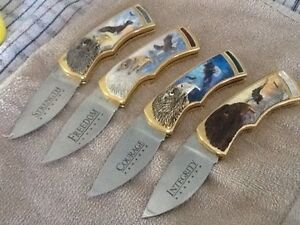4 collector Knives