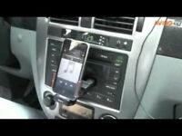 iDeck Integrated Car Cassette Adapter for iPod, Apple phones