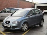 Late 2005 SEAT Altea 1.6 Reference MPV 1.6 100bhp petrol trade in considered credit cards accepted.