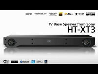 Sony HT-XT3 Bluetooth SoundBase Home Cinema Hi Res Audio NFC