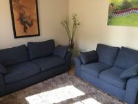 NEXT SOFAS - Garda Large 3 seater and small 2 seater ONLY £495 for BOTH!! Collection Uppingham