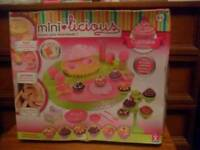 Brand new Mini-Licious cupcake workshop bake off