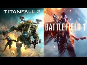 Battlefield 1 and Titanfall 2 PS4