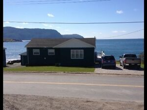 Ocean front property in Rocky Harbour, NL.   REDUCED