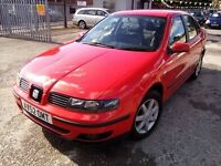 Seat Toledo 1.8 2003 MOT MARCH 2017 GOOD CONDITION P/X WELCOME