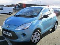 2009 Ford KA 1.2 Petrol Studio LOW MILEAGE £30 Road Tax Fiesta Micra Smart Up
