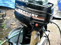 Looking for a Mercury 7.5 hp 2 stroke o/b with electric start