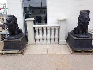 Concrete Balusters Made-River City Statuary-Millar Ave/46th