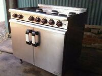 LPG 6 RING GAS COOKER