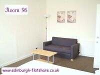RM 96 Edinburgh Flatshare - Gorgeous Double Room - ALL BILLS INCLUDED IN MONTHLY RENT