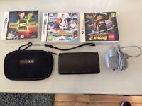 NINTENDO 3DS BLACK like new!! with 3 Games, charger and case.
