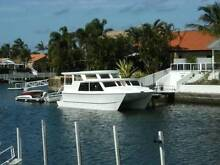 HOMECRUISER,  project boat - Twin hull solid built fibreglass. Runaway Bay Gold Coast North Preview