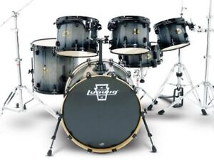 """Ludwig Element Shells only 6 pieces 