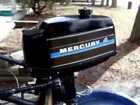 Mercury 4 hp GNAT parting out - Email you needs