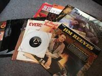 12 x Vintage Vinyl Records - Various Genres