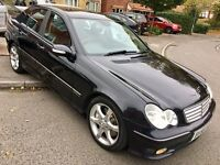 1 YEAR WARRANTY Free - NEW MOT & recently SERVICED - Rare SPORT Model C220 CDi 4dr MANUAL