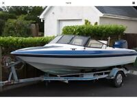 Fletcher Arrowbeau 170 with 2005 Selva 80hp outboard