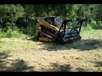 Fence line clearing/Brushing/Mulching