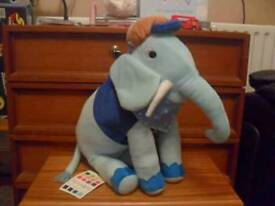Hiccups Eric the elephant