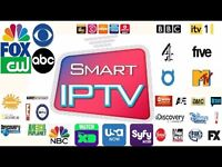 IPTV £45 year Full Support Giving Smart Tv/ Firestick/ Android