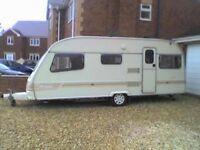 avondale pennine 4 berth caravan