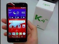 Lg K4. Mobile phone 4g . mint.