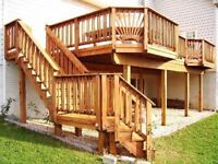 Fence $ deck staining! 15% off! Protect your wood from weather