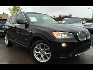 2013 bmw x3 suv for sale black on black