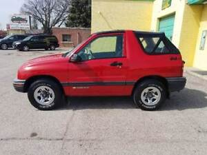 Recherche Chevrolet tracker ou Suzuki Vitara 1999 a 2003