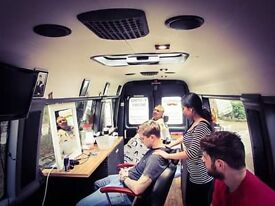 barber required for a fast growing mobilebarbershop