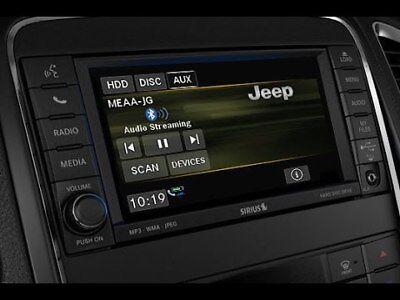 Jeep Dodge Chrysler MyGig CD DVD Radio High RBZ Wrangler Caravan Ram 1500 3500